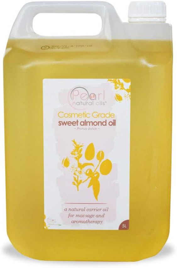 Aceite de almendras cosmético prensado en frío 100% puro