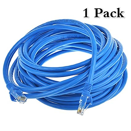 Amazon.com: LoveCam 25ft Cat6 Ethernet Cable Full Copper Wire 24AGW ...