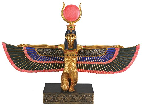 Egyptian Isis With Open Wings – Collectible Figurine Statue Figure
