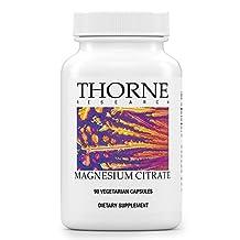 Thorne Research - Magnesium Citrate - 90 Vegetarian Capsules