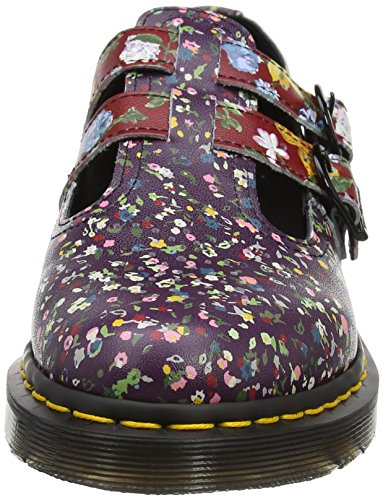 Dr. Martens Womens 8065 Lace Mary Jane Flat Multi