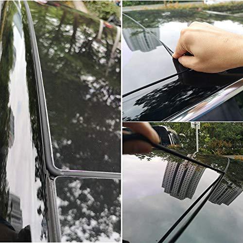 Gummidichtung Foonee Tesla Modell 3 Windger/äuschreduzierungs-Kit f/ür Sonnendach staubdicht Wetterstreifen einfache Installation Windschutzscheibe Windschutz