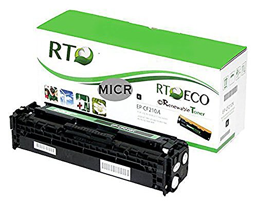 Renewable Toner 131A CF210A Compatible MICR Toner Cartridge for Check Printing for HP LaserJet 200 M251 M276 printers by Renewable Toner