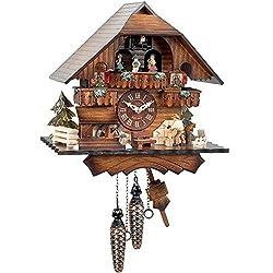 Black Forest Cuckoo Clock with Wood Chopper