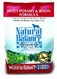 Natural Balance Limited Ingredient Diets Dry Dog Food - Grain Free - Sweet Potato and Bison Formula - 4.5-Pound