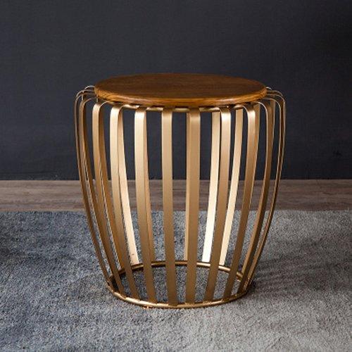 ZWL アイアンアートの小さな丸いテーブル、小さなコーヒーテーブルコーナーテーブルバルコニーテーブルリビングルームソファ農村シンプルアイアン55 * 54cm ファッション ( 色 : #2 ) B075QZJ1MQ #2