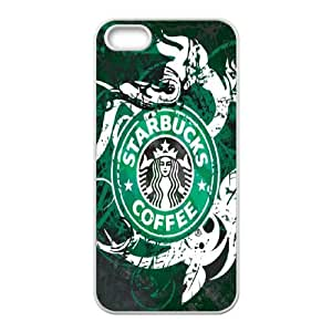 Starbucks Coffee Print iPhone 4 4s Cell Phone Case White Phone cover Q3257433