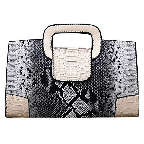 ZLMBAGUS Women Vintage Flap Tote Top Handle Satchel Handbags PU Leather Clutch Purse Shoulder Bag (Y-Gold)