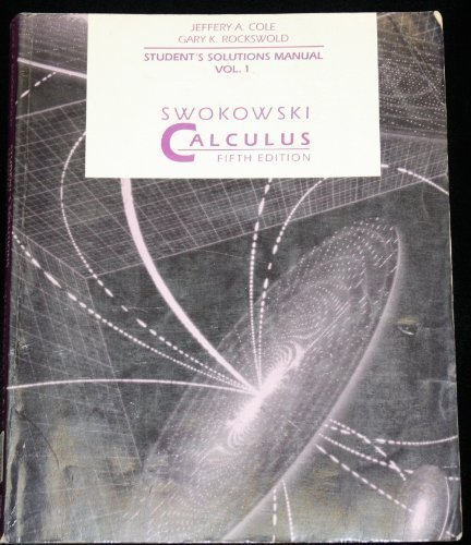 Calculus The Classic Edition Swokowski Pdf