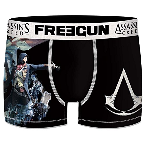 Selon Act4 Assassin's Homme assortiments Boxer Freegun Modèles Arrivages Creed Photos Mod6 xvT0Tw