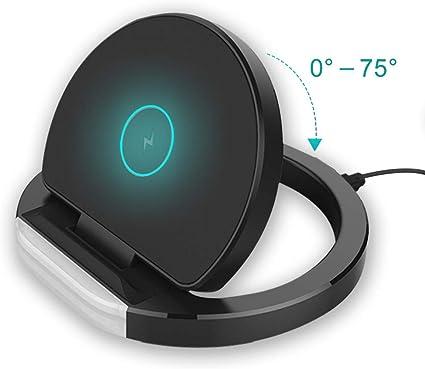 Amazon.com: Cargador inalámbrico Qi Wireless soporte de ...
