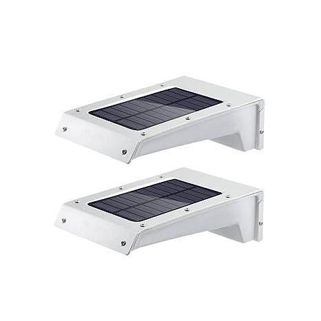 Sensor de movimiento LED Solar Luz al aire libre Seguridad Para Deck, Patio, Patio