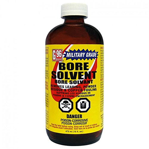 G-96 Brand Military Grade Bore Solvent 16FL Oz Bottles - Pack of 2 32oz Total by G96Brand