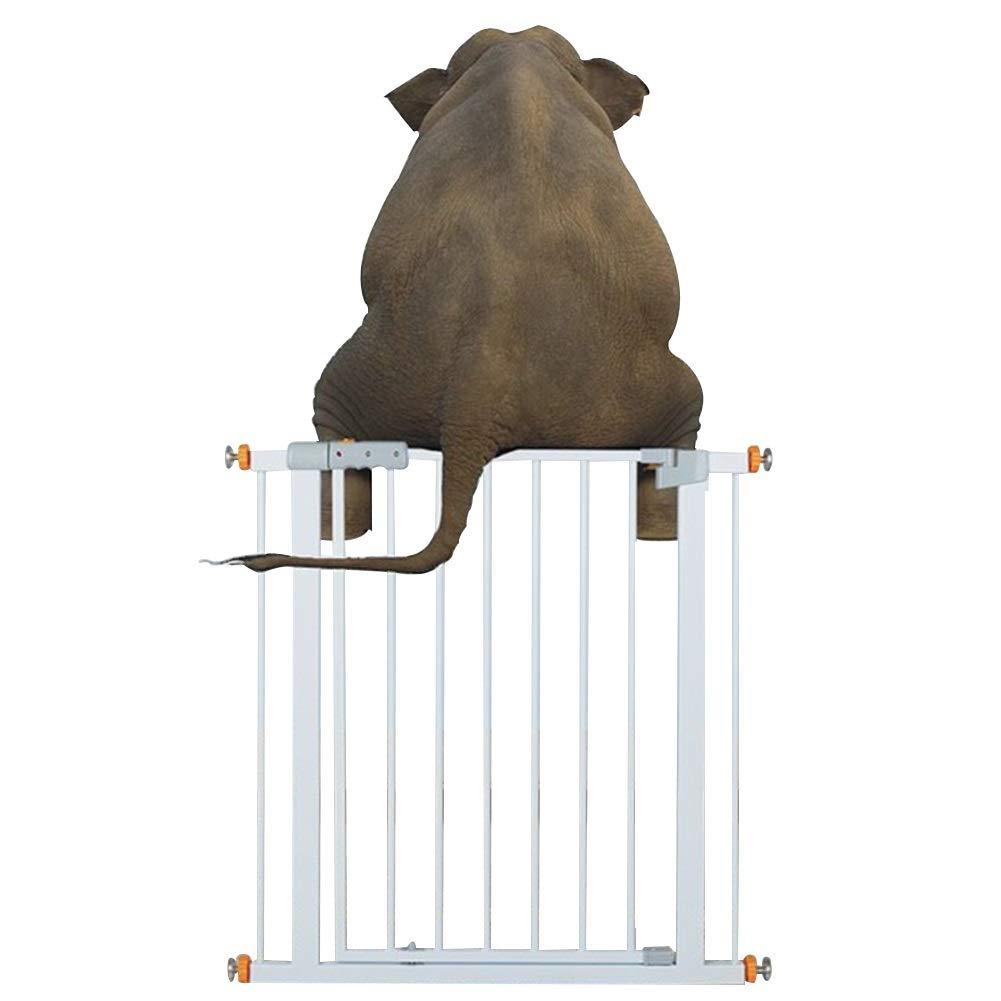 El Tama/ño Puede Ser Personalizado XJJUN-Barrera de seguridad Vallas Ni/ño Puerta De Mascotas Puerta De Aislamiento El Aumento De Ensanchamiento La Seguridad Metal Interior