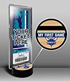 Charlotte Hornets My First Game Ticket Display Stand