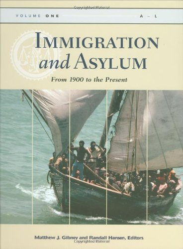 Immigration and Asylum: From 1900 to the Present, 3 Volume Set