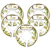 Mumsy Goose Baby Girl Clothes Dividers Nursery Closet Dividers Botanical Greenery
