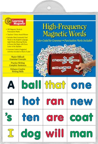 Esl Sight Words (Barker Creek - Office Products Learning Magnets, Kid Words (LM-2600))