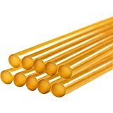 Pdr Glue Sticks, Gliston Paintless Dent Repair Tool Glue Sticks for Hot Glue Gun Car Repair Dent Rmover Tool Set - 10 Packs Yellow Pdr Glue Sticks