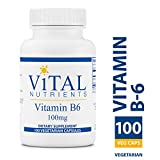 Vital Nutrients – Vitamin B6 100 mg – Healthy Nerve Support – 100 Capsules For Sale