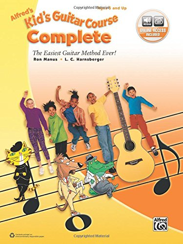 Alfred's Kid's Guitar Course Complete: The Easiest Guitar Method Ever!, Book & Online (Complete Guitar Music)