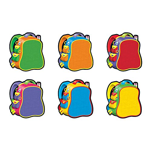 Back To School Bulletin Boards (TREND enterprises, Inc. Bright Backpacks Classic Accents Variety Pack, 36)