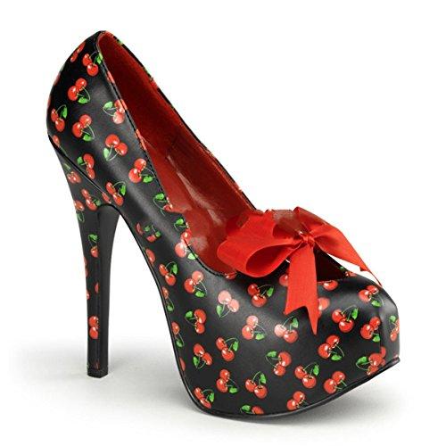 Pinup Couture Teeze-12-6 - sexy zapatos de tacón alto mujer plataforma - tamaño 36-42