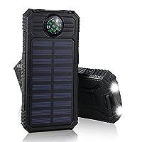 Solar Charger, External Battery Power Ba...