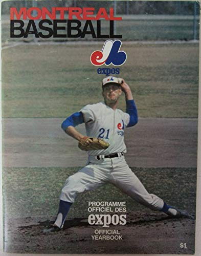 1969 Montreal Expos Official Baseball Yearbook 144027