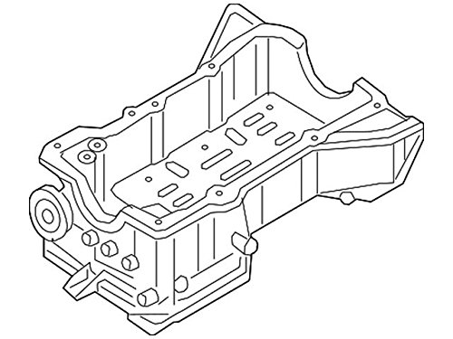 Nissan 11110-JA10D, Engine Oil Pan