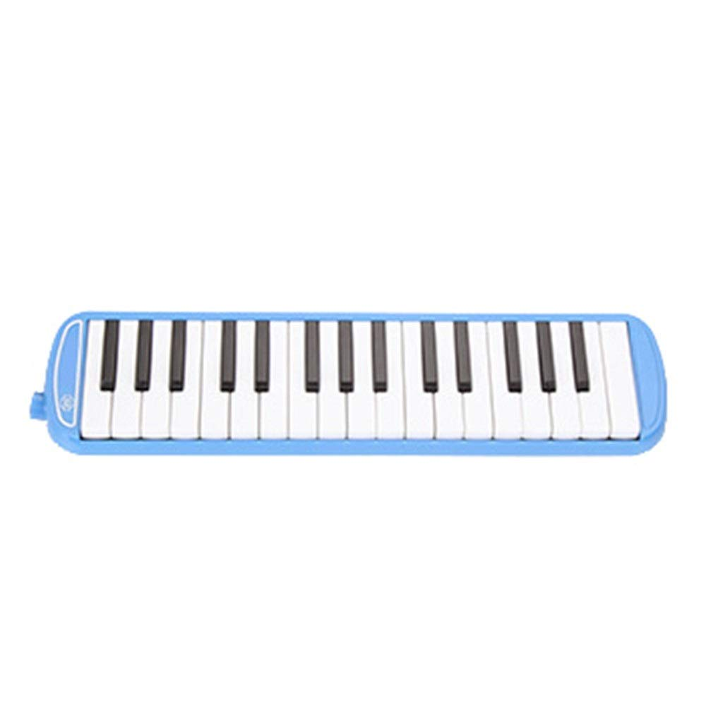 Melodica Musical Instrument 32 Keys Pianica Melodica With Portable Carrying Bag Kids Musical Instrument Gift Toys For Music Lovers Beginners Mouthpieces Tube Sets Black Blue Pink For Music Lovers Begi by Kindlov-mus (Image #2)