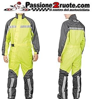 Nero Racer 82035 Fluo Pantaloni Antipioggia Misura 12XL