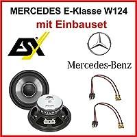ESX Qe120 Speaker Set For Mercedes W124 1984-1997 E-Klasse Front