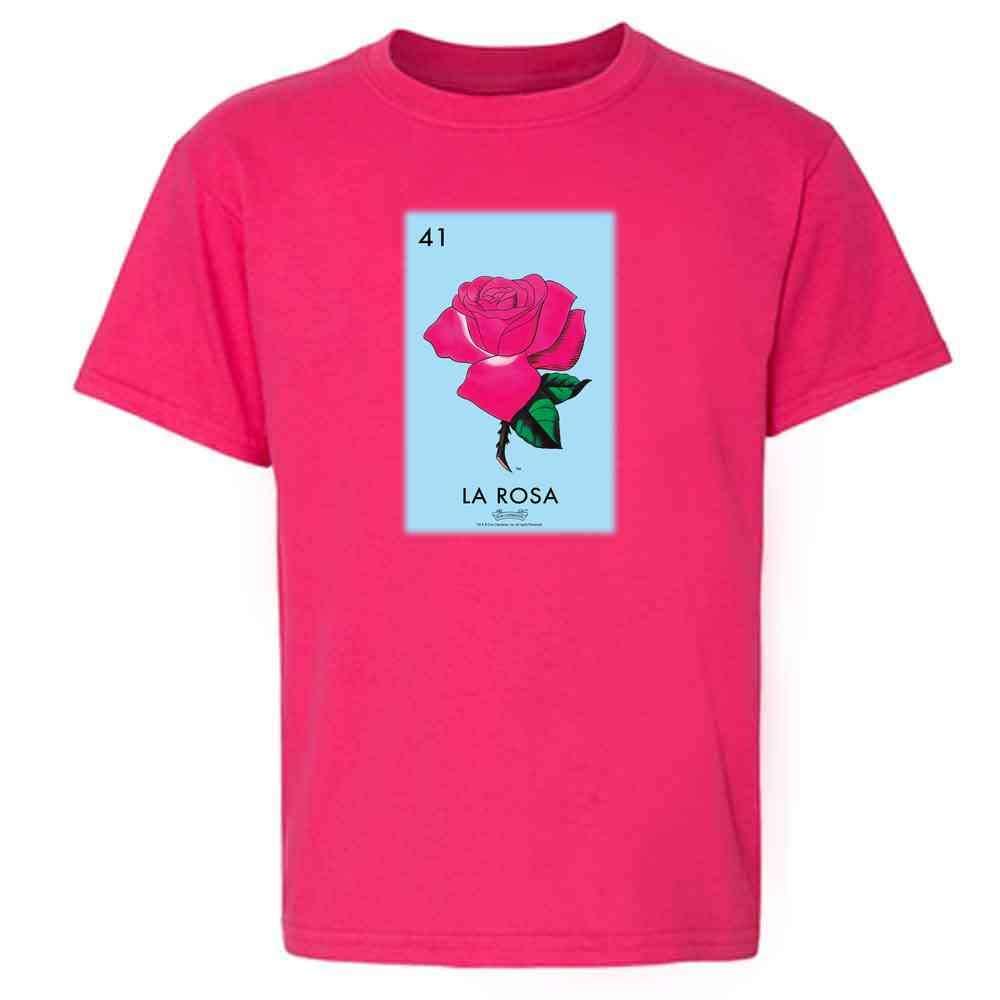La Rosa Rose Loteria Card Mexican Bingo T Shirt 2793