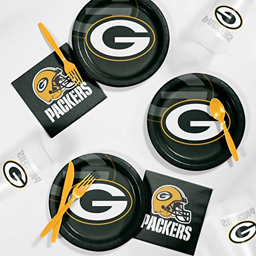 Creative Converting Green Bay Packers Tailgating Kit, Serves 8
