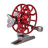 Outdoor Baitcasting Bait Lure Cast Reel Rod Wheel Ice Fishing Trolling Right 1:1