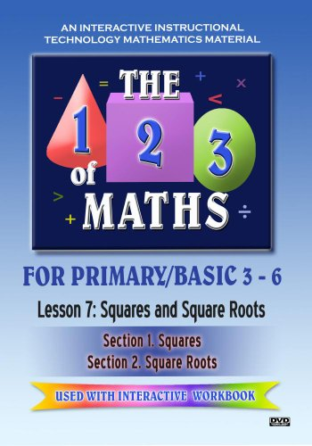 The 123 of Maths : Les. 7 Squares and Square Roots 1 & 2[NON-US FORMAT, PAL] -