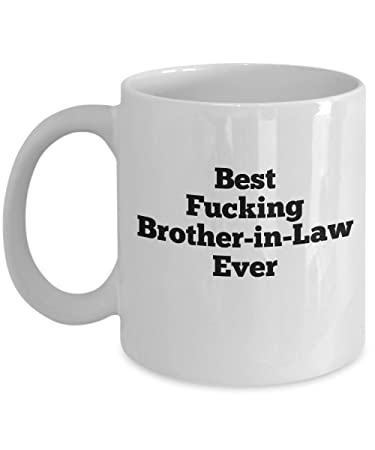 Amazon Com Gift For Brother In Law Funny Mugs For Brother In Law