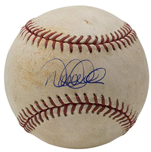 Derek Jeter Signed New York Yankees Game Used Baseball Sports - Steiner Sports Certified - MLB Autographed Game Used Baseballs