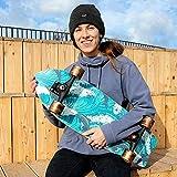 TIANDU Skateboards for Beginners,Complete Surf