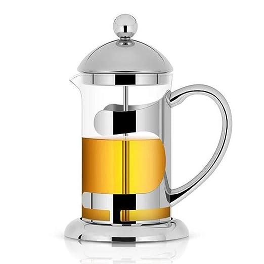 Prensa francesa cafetera, cafetera espresso de acero inoxidable ...