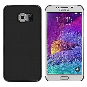 Caucho caso de Shell duro de la cubierta de accesorios de protección BY RAYDREAMMM - Samsung Galaxy S6 EDGE - Simple Gray