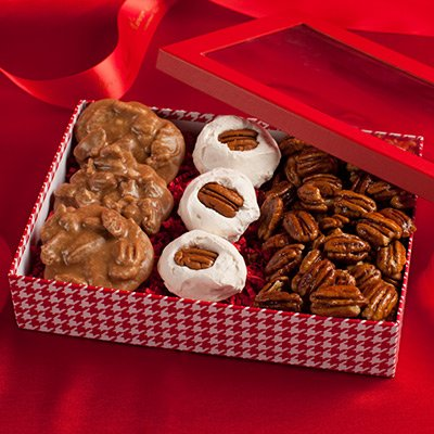 Southern Sweets Trio Gift Box (Southern Gift Baskets)