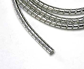 Amazon.com: Drag Specialities DS223000 Chrome Spiral Cable Wrap ...