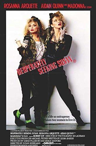Madonna Desperately Seeking Susan 1985 Film Canvas Wall Art Movie Poster Print