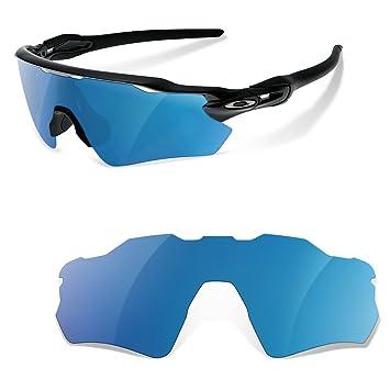 Lentes Polarizadas Color Azul Espejo para Oakley Radar Path EV: Amazon.es: Deportes y aire libre