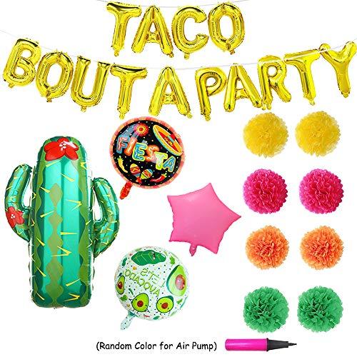 Taco Bout A Party Foil Ballons - 24