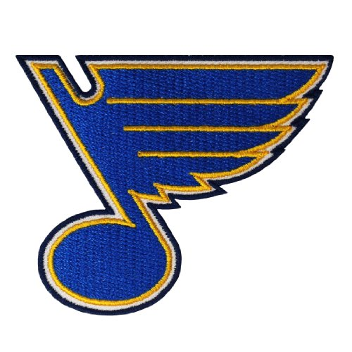 St Louis Blues Logo Embroidered Iron Patches (Disco Themed Clothes)