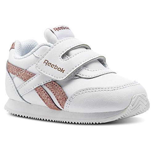 Reebok Royal Classic Jogger 2 Infants white/rose gold sparkle Weiß (white/rose gold sparkle)