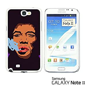 OnlineBestDigital? - Celebrity Star Hard Back Case for Samsung Galaxy Note 2 - JIMI